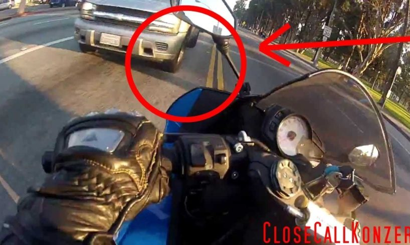 Lucky Bikers   Close Call and Near Death on Motorcycle