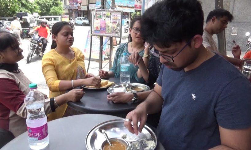 M J Dosa Corner Karol Bagh New Delhi   Street Food in Delhi India