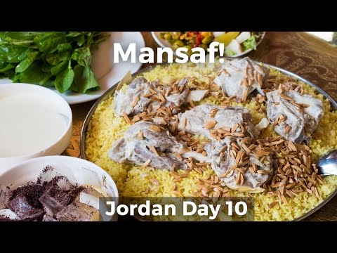Mansaf (منسف‎) - The Ultimate Jordanian Food