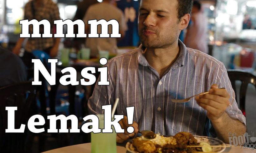 Mouthwatering Meals in Kuala Lumpur, Malaysia | Nasi Lemak | The Food Ranger