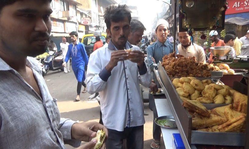 Mumbai Busy Snacks Center | Samosa Pav /Bhaji Pav @ 12 rs | Street Food Mumbai