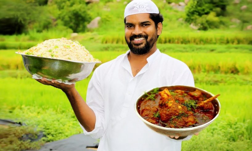 Mutton Curry With Bagara Rice by Nawab's kitchen