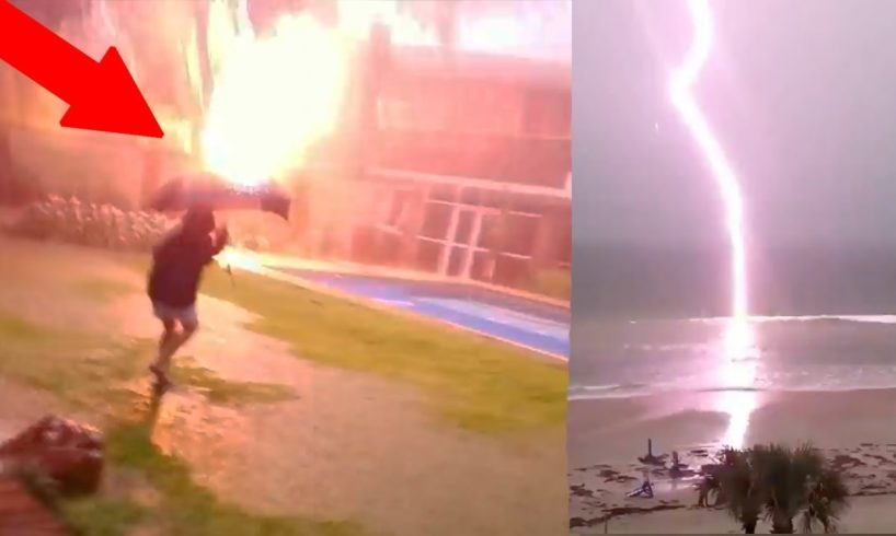 NEAR DEATH CAPTURED!! Struck By Lightning & My Near Death Experiences! | JOOGSQUAD PPJT