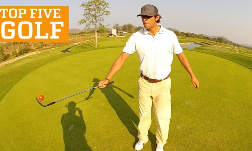 PEOPLE ARE AWESOME: TOP FIVE - GOLF