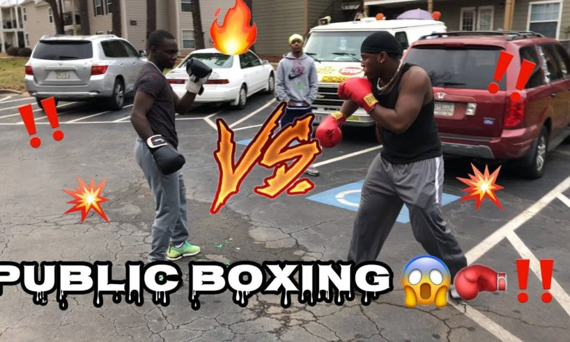 PUBLIC BOXING SESSION 🥊‼️ Put On The Gloves EP. 1
