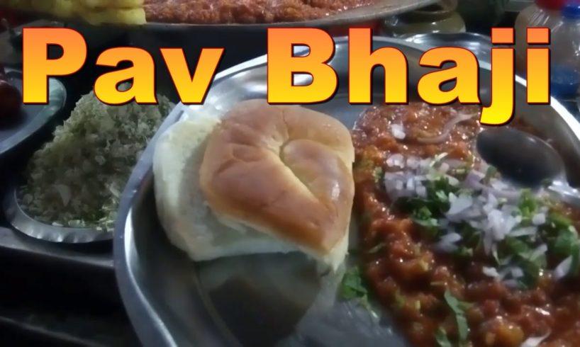 Pav Bhaji Street Food - Kolkata Style Preparation - Street food loves you
