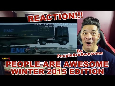 People Are Awesome Winter 2015 REACTION!!!