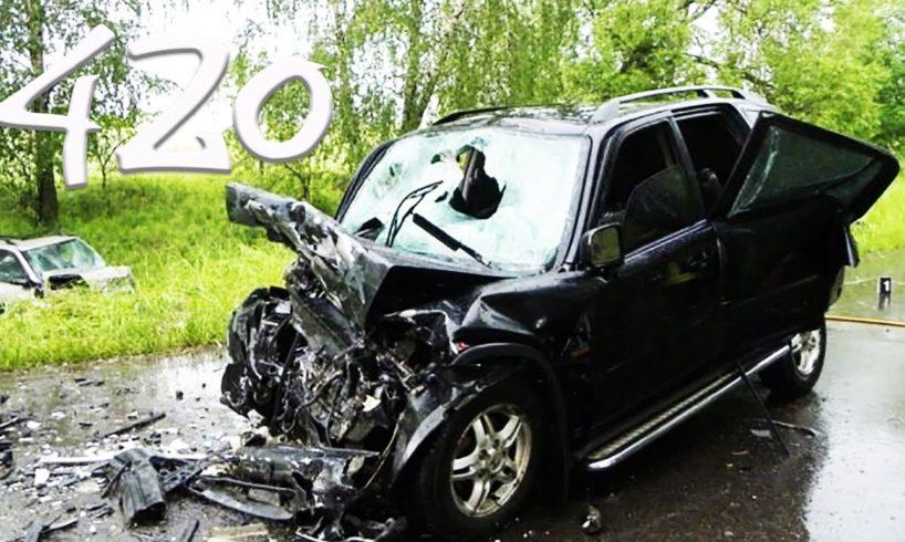 ROAD RAGE & CAR CRASH COMPILATION #420 (June 2016) (with English subtitles)