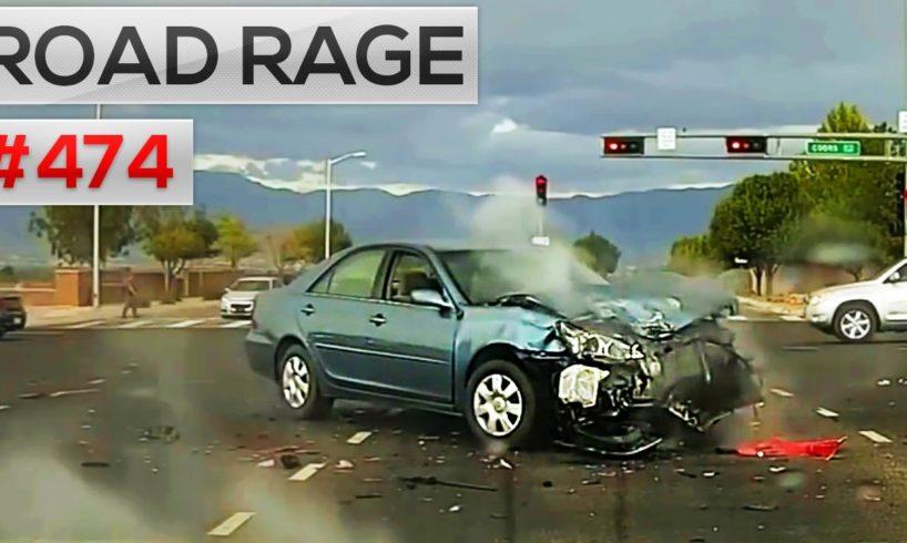 ROAD RAGE & CAR CRASH COMPILATION #474 (October 2016)