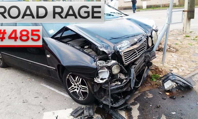 ROAD RAGE & CAR CRASHES, Bad drivers compilation #485