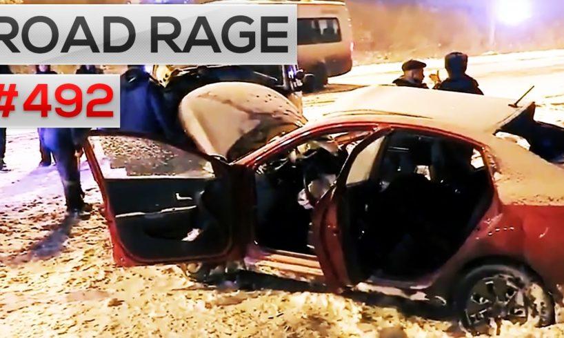 ROAD RAGE & CAR CRASHES, Bad drivers compilation #492