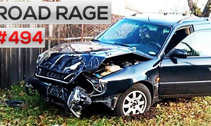 ROAD RAGE & CAR CRASHES, Bad drivers compilation #494