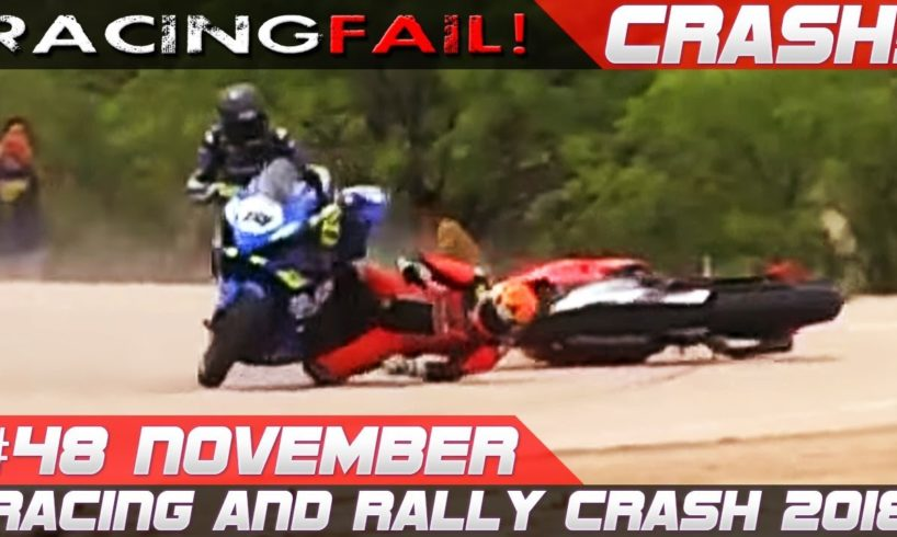 Racing and Rally Crash Compilation | Fails of the Week 48 November 2018