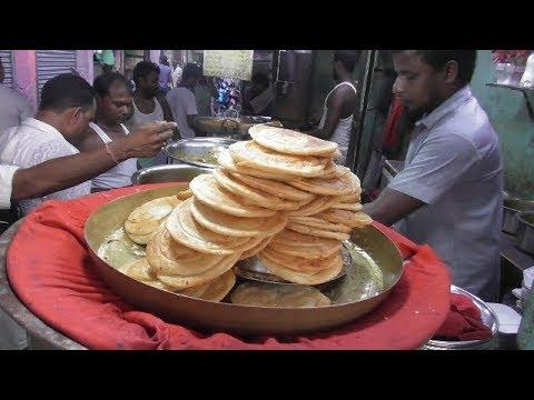Rumali Ruti   Paratha   Tarka Curry   Delicious Food at Kolkata Street   Street Food Loves You