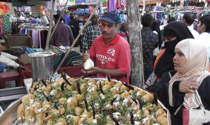 Snacks Only Snacks ( Chilli , Potato , Vada ) | Busy Street Food Corner Hyderabad