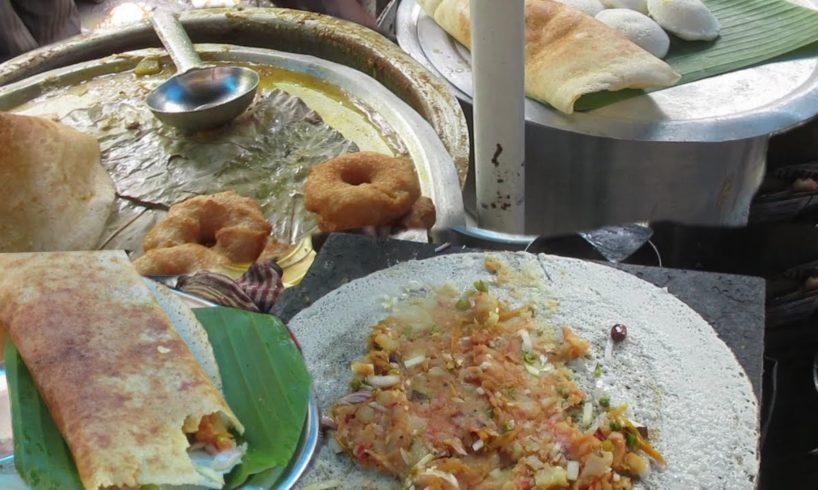South Indian Food in Kolkata Street | Dosa - Idli | South Indian Street Food for Breakfast and Lunch