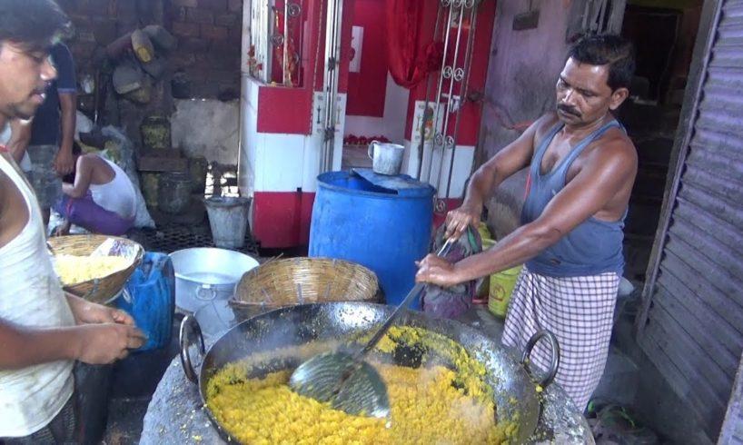 Special Motichur Besan Laddu Full Preparation | Common Sweet in India | Street Food Loves You