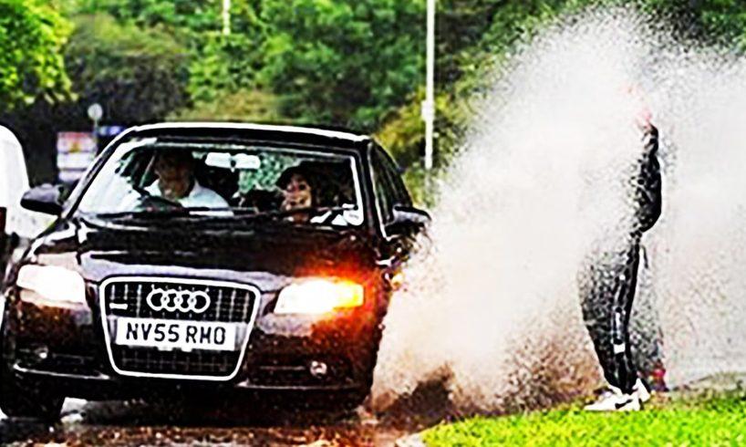 Splashing People! (Asshole behind the wheel...)
