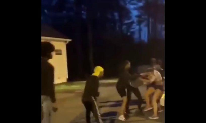 Street Fight Caught on camera