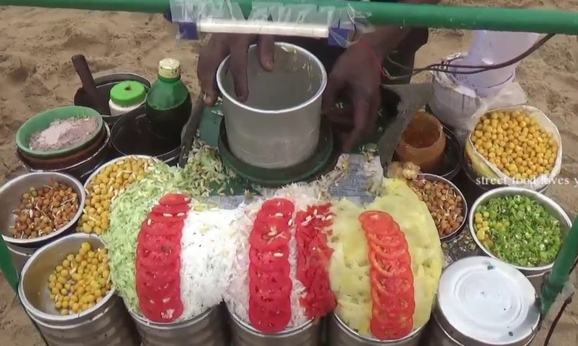 Street Food India | Best Evening Snacks In Beach | Street Food Loves You Present