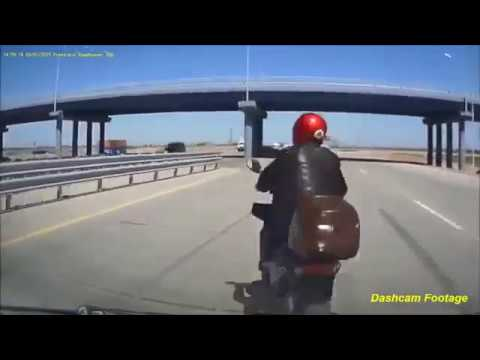 TOP 10 BRUTAL SCARY NEAR DEATH MOTORCYCLE ACCIDENT COMPILATION
