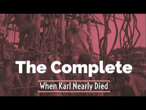 The Complete 'When Karl Nearly Died' Compilation w  Karl Pilkington, Ricky Gervais & Steve Mercha