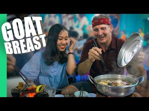 The GREATEST Goat Of All Time + FIGHT breaks out with rival food reviewer!
