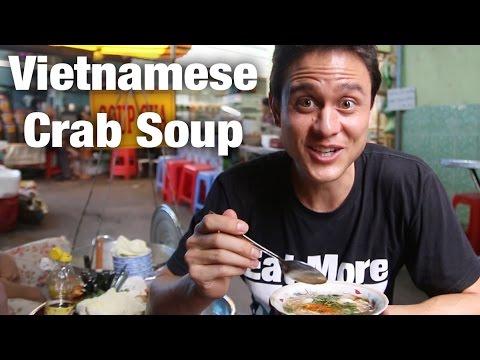 Vietnamese Street Food: Crab Soup (Súp Cua)
