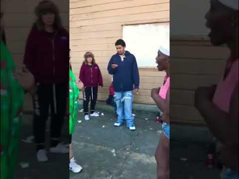 #girl fight Epic Hood Crackhead #fight must watch!!😱😱😄
