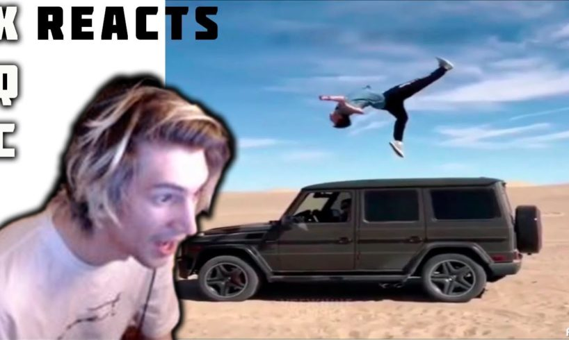 xQc and Moxy Reacts To LIKE A BOSS COMPILATION AMAZING Videos and NEAR DEATH