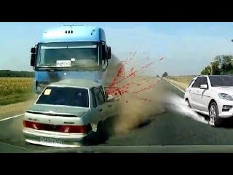 6 fast TÖDLICHE UNFÄLLE auf Video (Near Death Compilation)