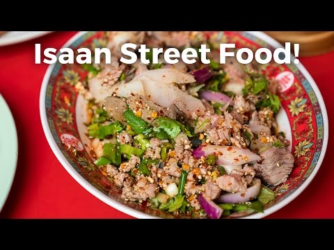 Authentic Isaan Street Food in Bangkok at Som Tam Jay So (ร้านส้มตำเจ๊โส)