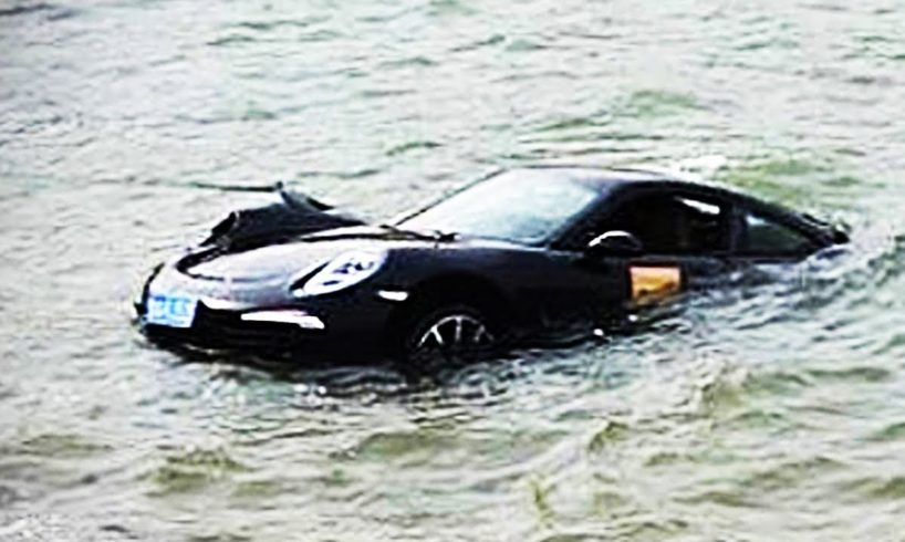 CARS in WATER - WORLD'S MOST STUPID DRIVERS