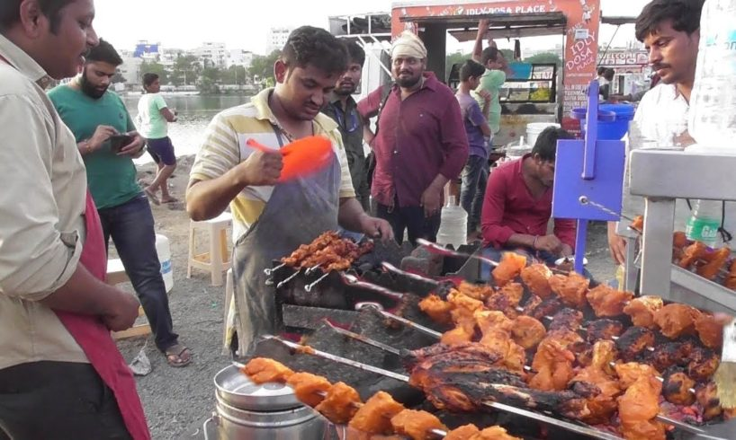 Chicken Barbecue ( Boneless ) | 60 Rs Per 6 Pieces | Hyderabadi Street Food Loves You