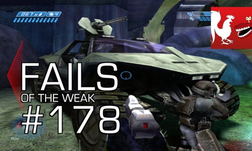 Fails of the Weak: Ep. 178 - Funny Halo Bloopers and Screw Ups!   Rooster Teeth