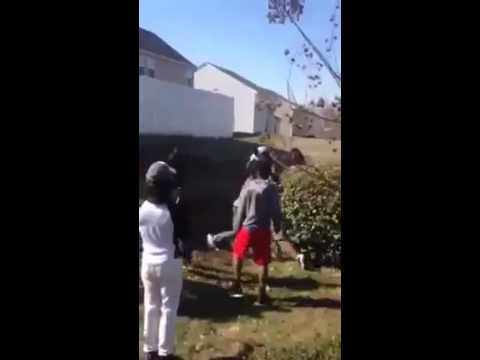 Hood Fight When Jumping Goes Wrong