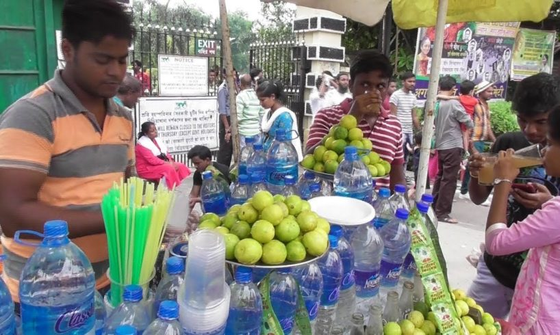 Indian Street Food in Summer Time | Nimbu Pani ( Lemon Water ) | People are Crazy to Drink