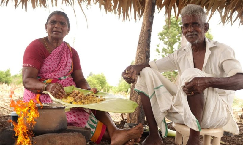 Mutton Biryani Prepared By My Granny And Grandpa | Country foods