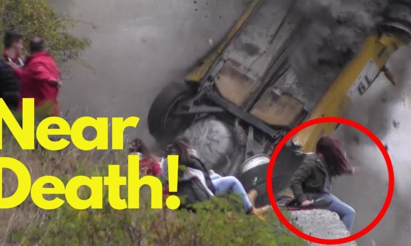 Near Death Moments Caught On Camera