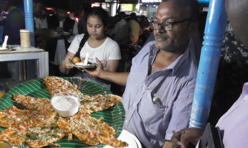 Pizza Dosa @ 100 rs - Hyderabad Street Food