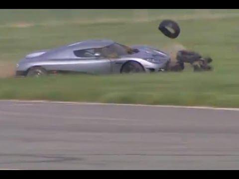 Stig Crashes Koenigsegg CCX (HQ) | Top Gear | Series 8 | BBC