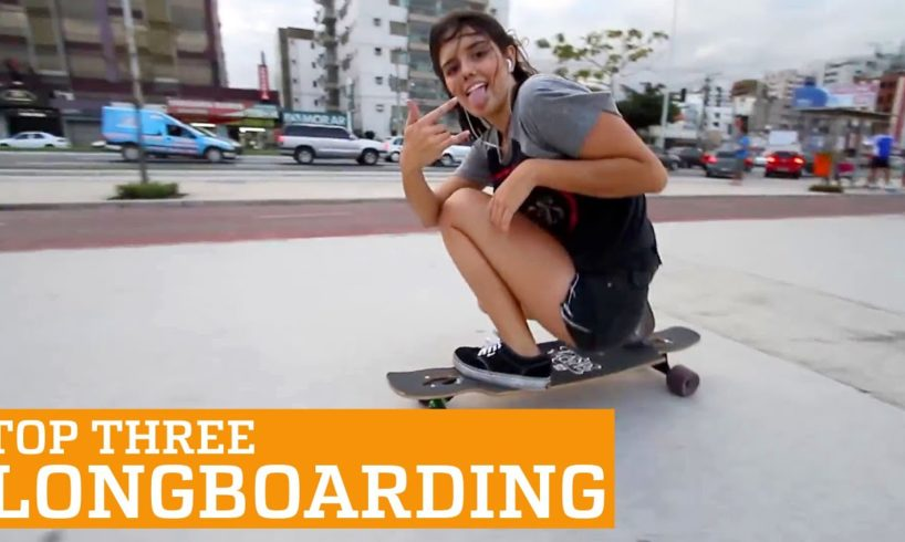 TOP THREE LONGBOARDING Videos | PEOPLE ARE AWESOME 2016