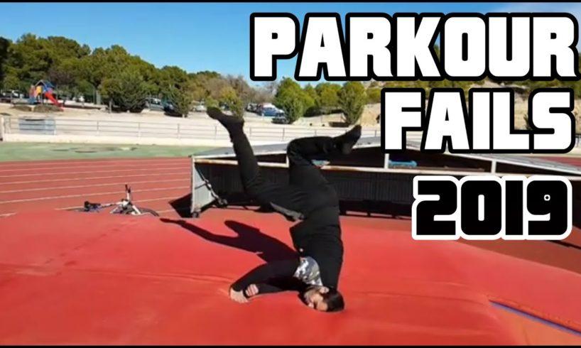Ultimate Parkour Fails Compilation | 2019
