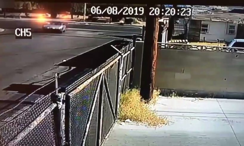 live leak video #18 - Car flees scene after hitting woman in North Las Vegas walking dog