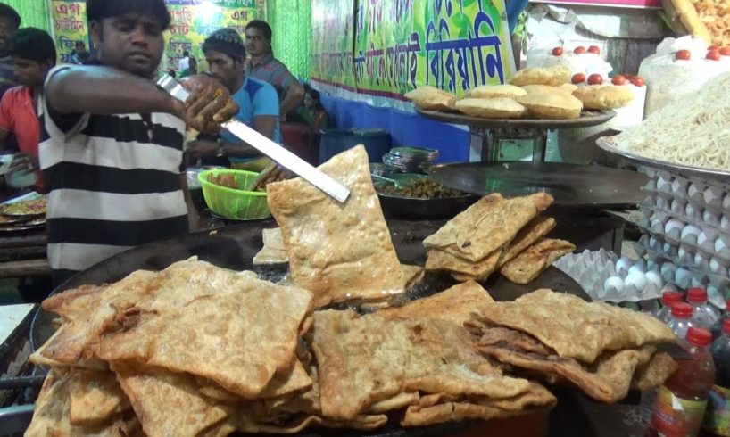 1000 of Mughlai Paratha Finished within One Hour   Oldest Indian Street Food