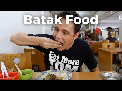 Batak Food - Northern Sumatran Food at Lapo Ni Tondongta Restaurant in Jakarta!