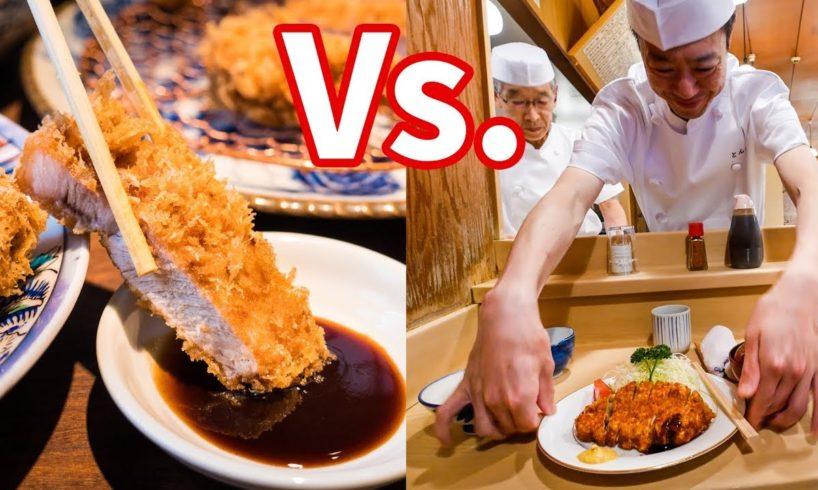 Best Japanese Tonkatsu - GOLDEN BOAR Gourmet Vs. Old-Style Food in Tokyo, Japan!