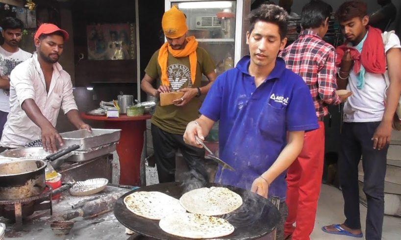 Common But Best Street Food Amritsar   Kulcha /Alu Paratha /Chole Bhature /Naan