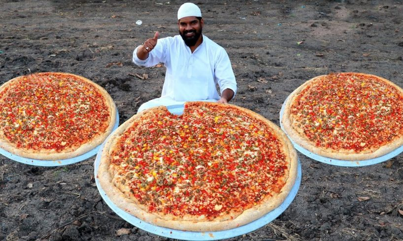 Dominos Pizza  कढाई में चीज बर्स्ट पिज़्ज़ा   dominos burst pizza no oven -Nawabs