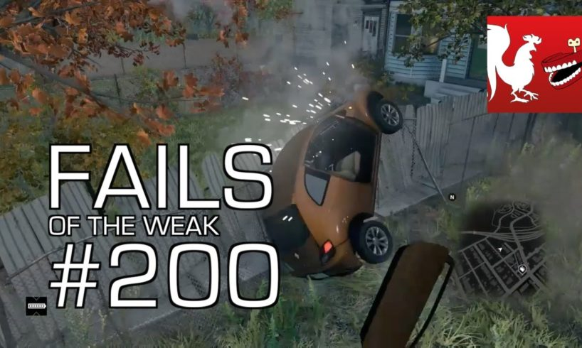 Fails of the Weak: Ep. 200 - Watch Dogs, GTA V, Battlefield 4, and FIFA 14 | Rooster Teeth